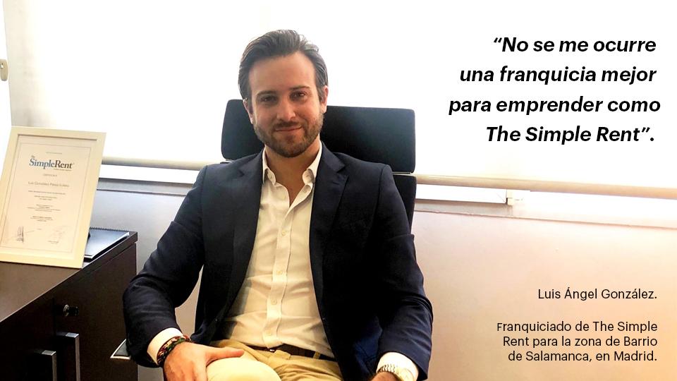 Entrevista a nuestro franquiciado The Simple Rent del Barrio de Salamanca.